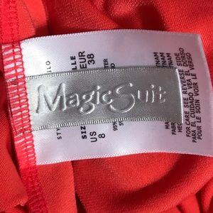 Magicsuit Swim - MagicSuit Flamingo Morgan High Neck Swimsuit Top